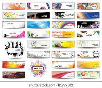 Collection Banners