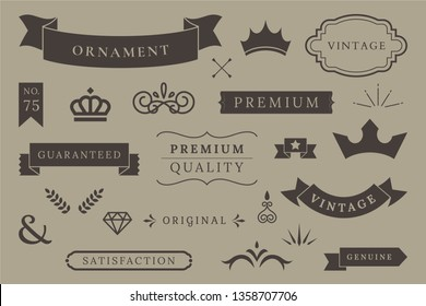 Collection of Banners Vector