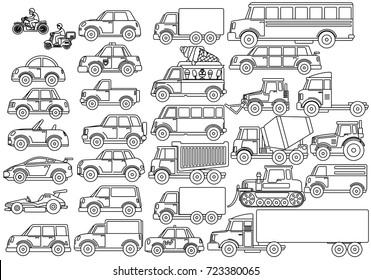 Royalty-Free Coloring Trucks Stock Images, Photos & Vectors ...