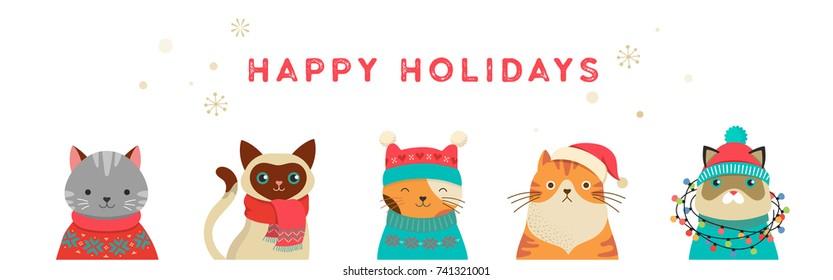 Cute Christmas Animals Images, Stock Photos \u0026 Vectors