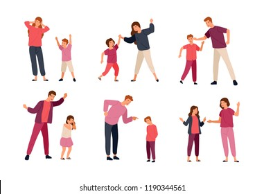 Disrespectful Child Stock Vectors, Images & Vector Art