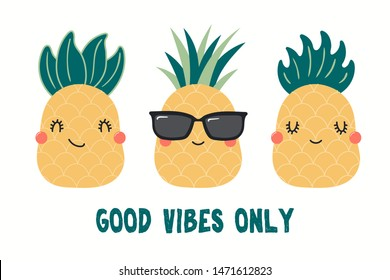 Pineapple Quotes Images, Stock Photos & Vectors | Shutterstock