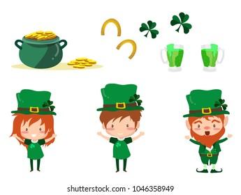 Cartoon Leprechaun Images, Stock Photos & Vectors   Shutterstock