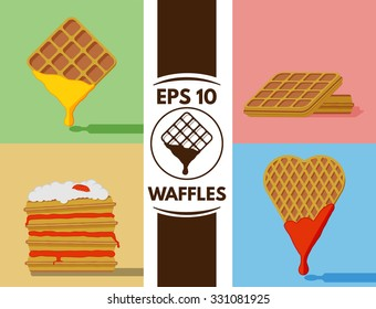 Collection of cute waffles images