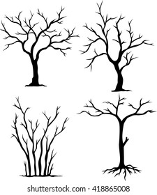 collection of dead trees