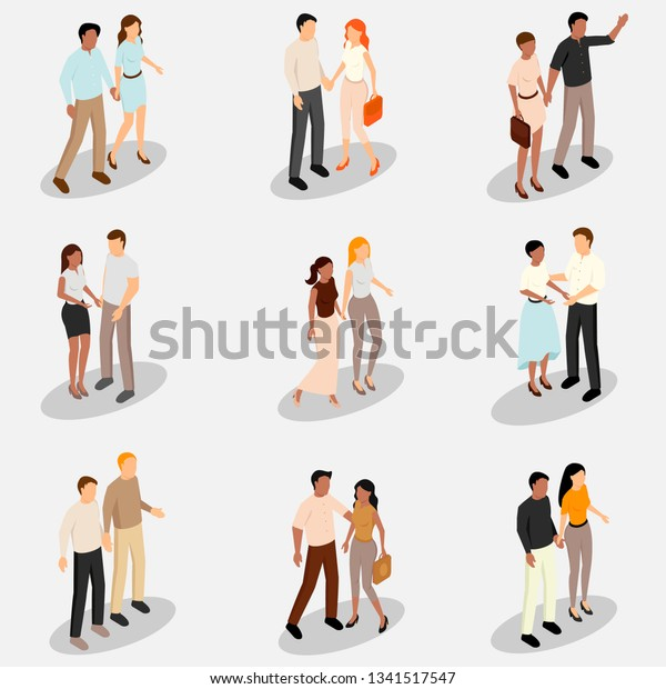 Collection Different Types Romantic Relationships Different