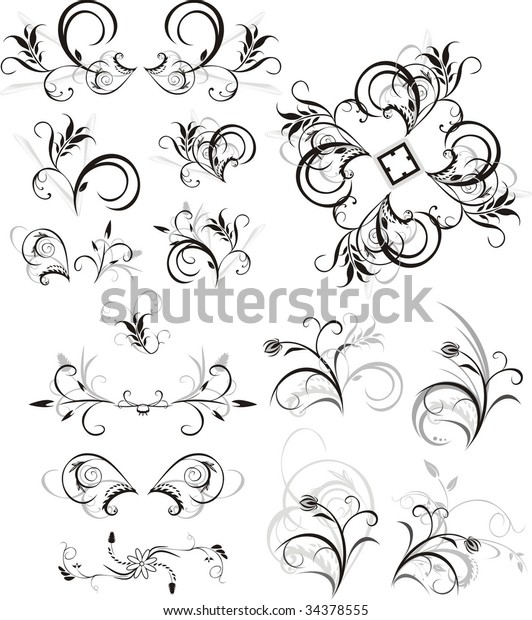 collection-floral-ornaments-isolated-on-