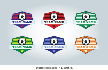 Collection of Football Team Crests