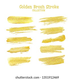 Gold Brush Lines Images, Stock Photos & Vectors | Shutterstock