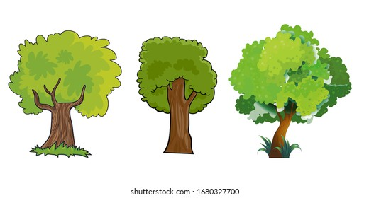 Cartoon Tree Images Stock Photos Vectors Shutterstock Gograph allows you to download affordable illustrations and eps vector clip art. https www shutterstock com image vector collection green tree cartoon style vector 1680327700
