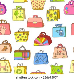 collection of hand drawn colorful bags ep8