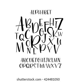 Hand Lettering Fonts Images, Stock Photos & Vectors