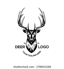 Collection of hunting logos, deer hunting logos suitable for those who like deer hunting