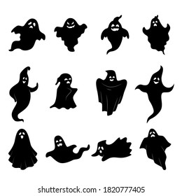Ghost Silhouette Images Stock Photos Vectors Shutterstock