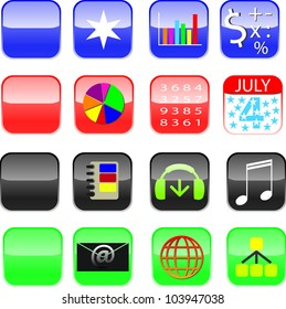 Collection of Icons for phones and pads