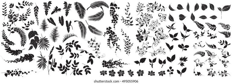 samling av blader