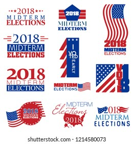 Collection of mnemonics on Midterm Elections held on 6th November 2018