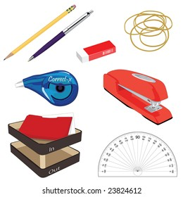 A collection of Office Stationary