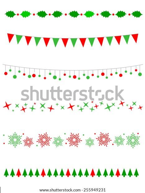 Christmas Borders Free.Collection On Christmas Borders Divider Graphics Stock