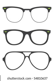 collection of original ray ban glasses