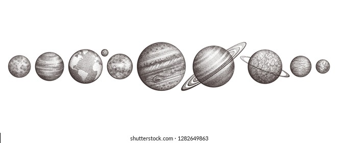 Planet Tattoo Images Stock Photos Vectors Shutterstock