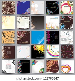 Collection posters ( cd cover format )