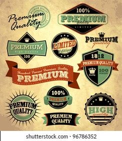 Collection of Premium Quality with retro vintage styled design