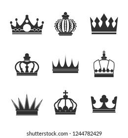 Queen Crown Black White Images Stock Photos Vectors Shutterstock