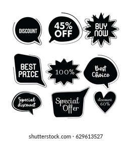 Collection of Sale Logo Vector Template