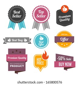 Collection of Sales Labels