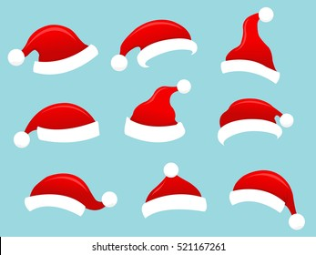 Collection of Santa Hats