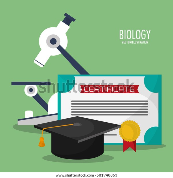 collection science biology icons