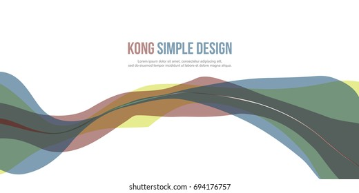 Collection stock Banner header website abstract