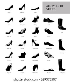 all kinds of high heels