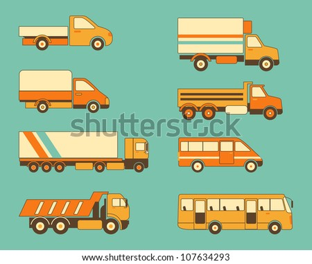 Collection of truks and