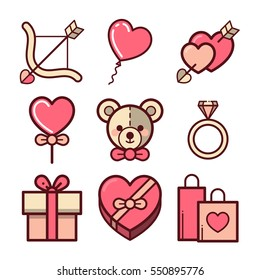 Collection of Valentine's day Elements