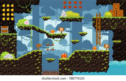 Video Game Background Images, Stock Photos & Vectors
