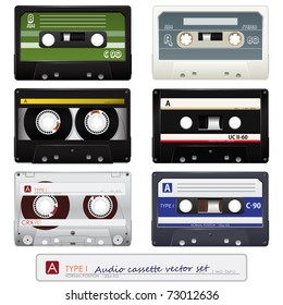 Collection of vector audio cassettes