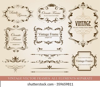 Collection of vector elements