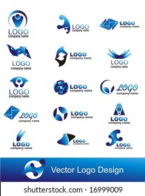 collection of vector graphic design elements