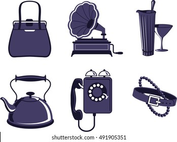 A collection of vintage items