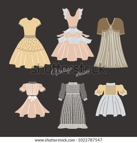 All vintage wear collection phrase