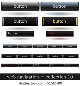 collection of web navigation