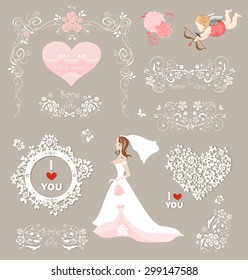 Collection for wedding design
