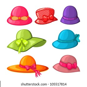 Fancy Hat Isolated Stock Illustrations 6e5d278e8dcb