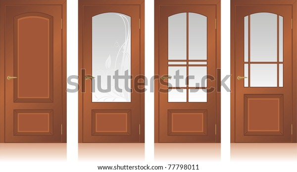 collection-wooden-doors-vector-600w-7779