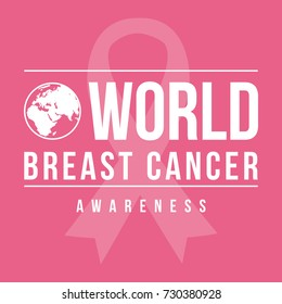Collection world breast cancer day