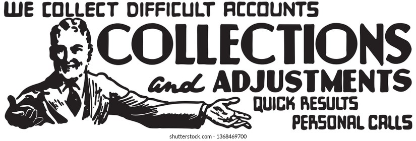 Collections  - Retro Ad Art Banner