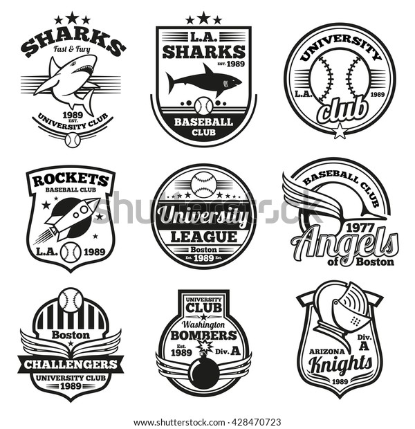 graphic relating to Printable College Logos titled College or university Athletic Print Match Personnel Labels Inventory Vector