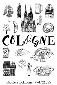 Cologne vector poster